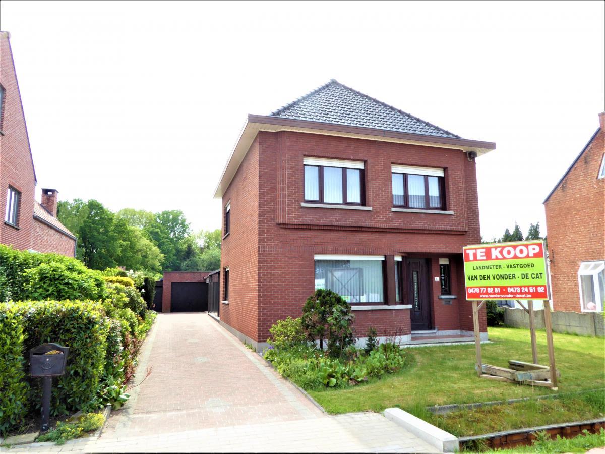 Van den vonder marcel bvba hulshout eengezinswoning for Huis te koop van eigen huis en tuin
